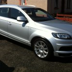 Recently valeted Audi