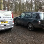 Range Rover before...